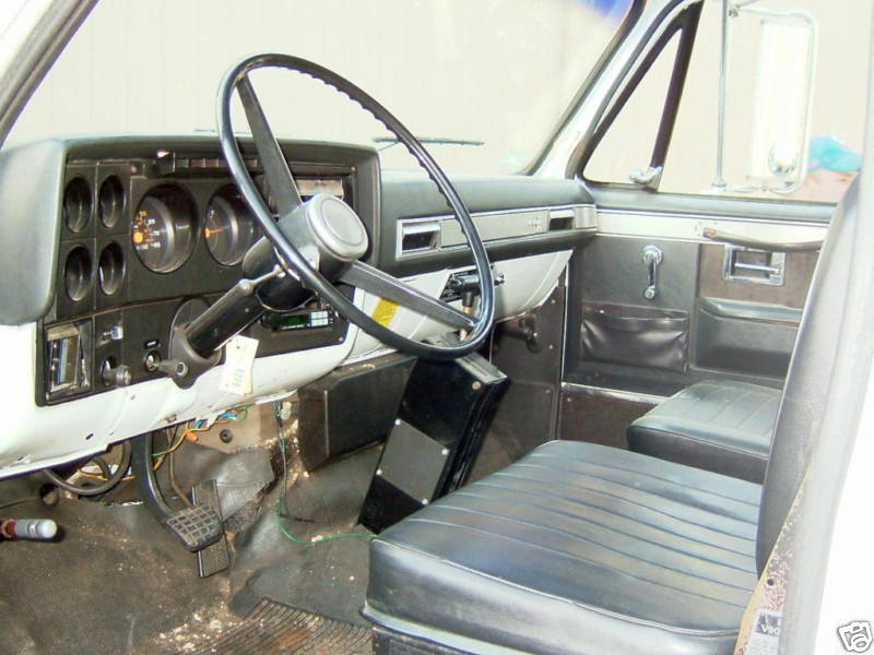 1984 c60 chevy rescue truck interior ass speed miles unit sold