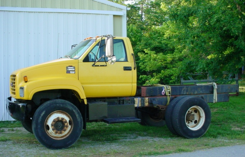 Big Ass Trucks Sold 1998 Gmc 6500 366 Gas