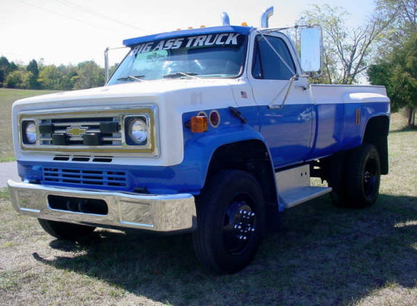 2009 Chevy Silverado For Sale >> big ass trucks sold - 1984 Chevy C60 ex-Rescue