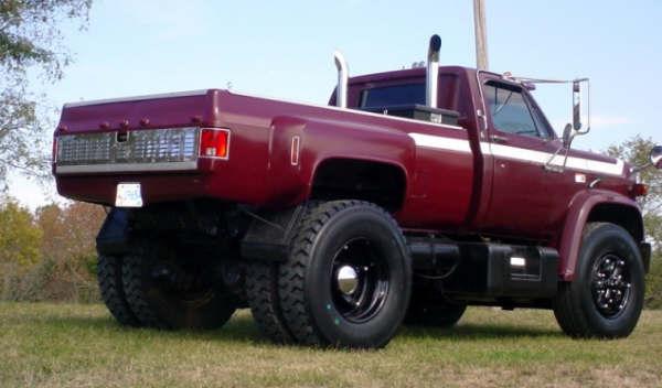 Big Ass Trucks Sold 1984 Gmc C7000
