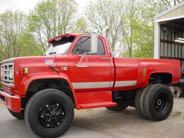 Big Chevy Trucks