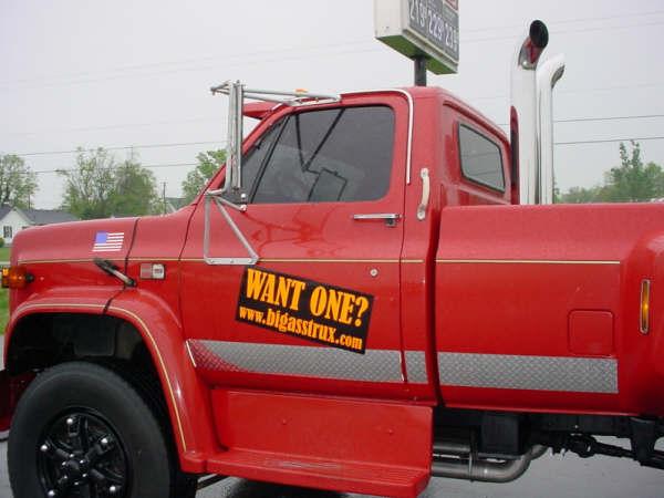 big ass trucks sold - 1987 GMC C7000 ex-Fire